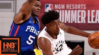 Philadelphia Sixers vs Toronto Raptors Full Game Highlights | July 12 | 2019 NBA Summer League