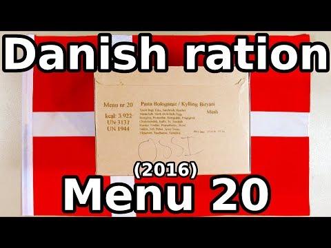 Danish ration - Menu 20 (2016) - UC-8lXODO__gYvxWrg4ZxaTQ