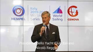 Hempel World Cup Series a Genova dal 15 al 21 aprile
