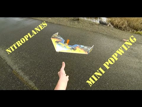 Mini Popwing Maiden and crash! Techone Nitroplanes - UCLqx43LM26ksQ_THrEZ7AcQ