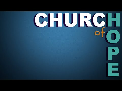 , Church of Hope, 04/05/2020