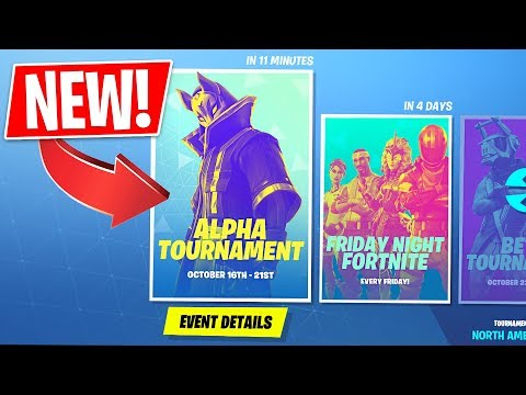 *NEW* Fortnite In-Game Tournaments! 1st Tournament RIGHT NOW!! (Fortnite LIVE Gameplay) - UC2wKfjlioOCLP4xQMOWNcgg