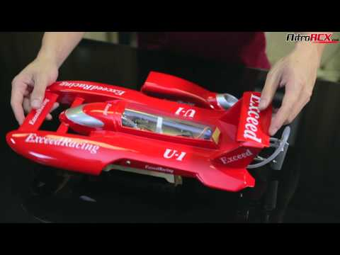 Exceed Racing Fiberglass Hydro Speed Boat Overview - UC4Q-WAotUTF3ZXahLZ0MGZw