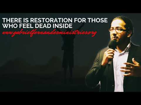 GOD WANTS TO RESTORE THOSE WHO FEEL DEAD INSIDE, POWERFUL SERMON & PRAYER WITH EV. GABRIEL FERNANDES