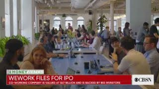 MoneyWatch headlines: WeWork IPO, Alphabet's Google miss, Amazon car deliveries