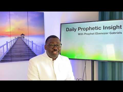 Prophetic  Insight Jun 3rd, 2021