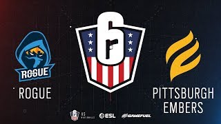 Rogue vs. Pittsburgh Embers | Rainbow Six: US Nationals - 2019 | Stage 2 | Week 4 | Western Conferen