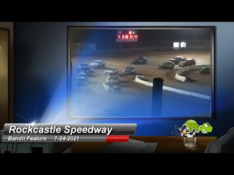 Rockcastle Speedway - Hornet Feature - 7/24/2021 - dirt track racing video image