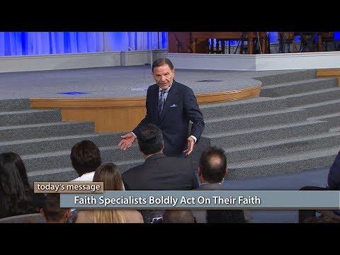 Faith Specialists Boldly Act on Their Faith
