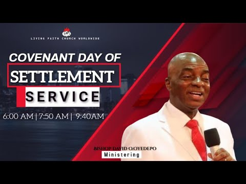 DOMI STREAM:COVENANT DAY OF SETTLEMENT SERVICE   14TH JUNE , 2020