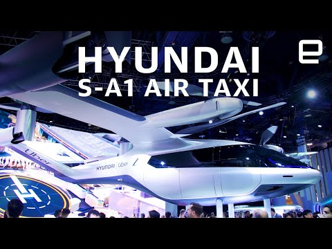 Hyundai S-A1 Air Taxi first look at CES 2020 - UC-6OW5aJYBFM33zXQlBKPNA