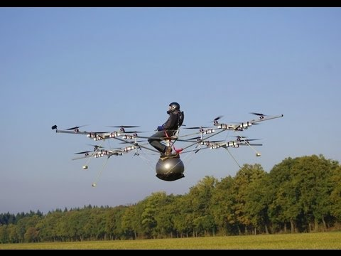 World's first manned flight with an electric multicopter - UCqvnnqbaqEMl7F0pZAMmeHA