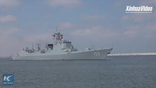 Chinese missile destroyer