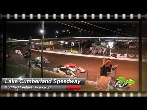 Lake Cumberland Speedway - Modified Feature - 8/28/2021 - dirt track racing video image
