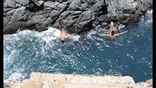 Mexico's Cliff Divers Drive Tourism through Risky Career