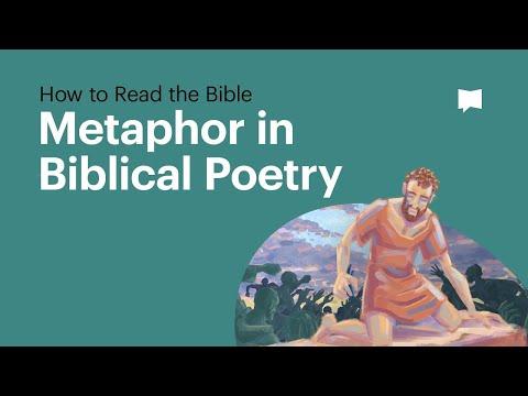 Metaphor in Biblical Poetry