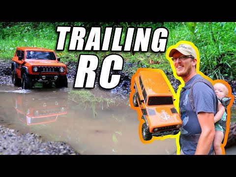 RC Crawler 4X4 Trailing in the Woods - Redcat Racing Gen 8 Scout ii - TheRcSaylors - UCYWhRC3xtD_acDIZdr53huA