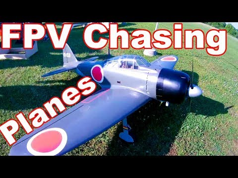 P-47D Thunderbolt Large Scale Gas RC Warbird Plane FPV Chase
