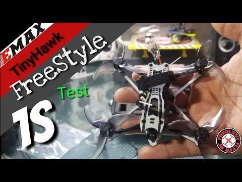 TinyHawk Freestyle 1S Test - 6 Minutes of Flight !?? - UCNUx9bQyEI0k6CQpo4TaNAw