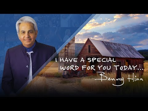 Pastor Benny Hinn has a special word for you today.