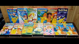 Pokemon came to an end, 45 Episodes of an Anime, on 15 Tapes, Yes I did have the Double Charizards