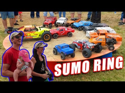 INSANE RC Car Sumo Ring Challenge! - You Have to Try it! - TheRcSaylors - UCYWhRC3xtD_acDIZdr53huA
