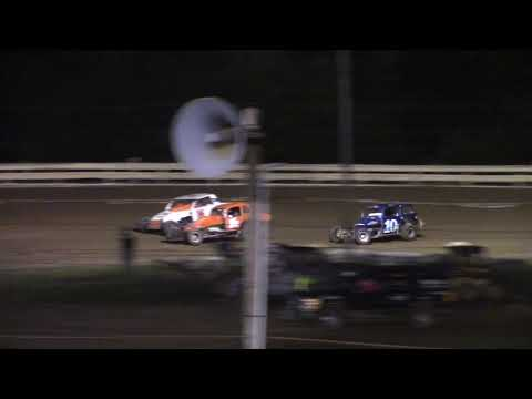 Hummingbird Speedway (8-14-21): PA Thunder on the Dirt Vintage Modified Feature - dirt track racing video image