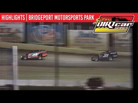 Super DIRTcar Series Big Block Modifieds Bridgeport Motorsports Park May 4, 2021 | HIGHLIGHTS - dirt track racing video image