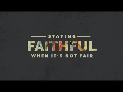 #HungryGenAtHome 08.16.20  Staying Faithful When It's Not Fair - Pastor Vlad