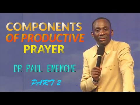 COMPONENTS OF PRODUCTIVE PRAYER 2