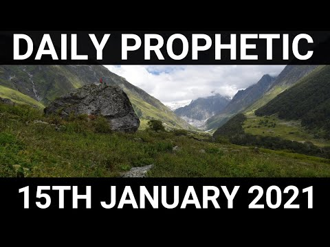 Daily Prophetic 15 January 2021 7 of 7