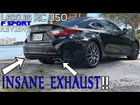 2017 LEXUS RC 350 F SPORT FULL REVIEW - INSANE EXHAUST! - UCIMM7Cps_JUIn382DgNkvUw