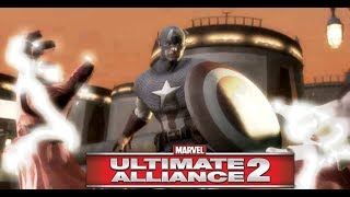 Captain America Boss Fight - Marvel Ultimate Alliance 2 (Marvel Ultimate Alliance 2 Civil War)
