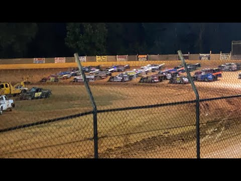 7/3/2021 Blue Ridge Outlaw Late Models Harris Speedway - dirt track racing video image