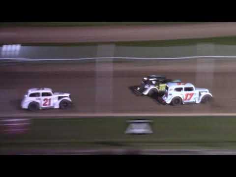 9/11/21 Legend Feature Beaver Dam Raceway - dirt track racing video image