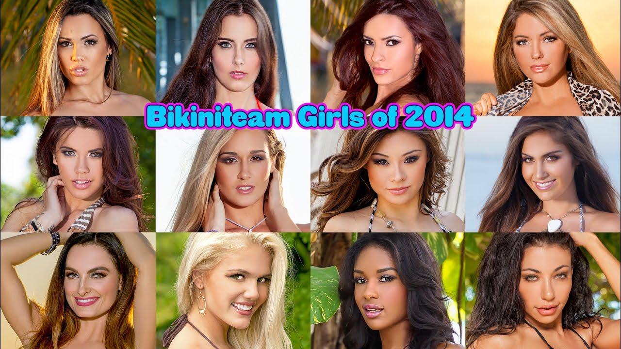 BikiniTeam Girls of 2014 [HD]