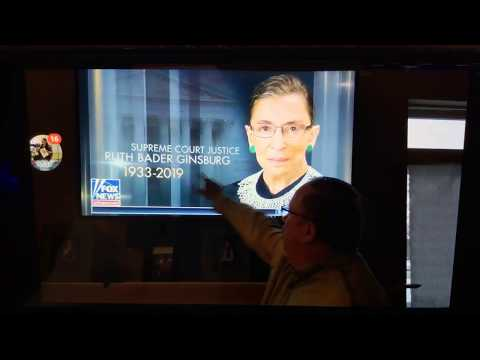 Breaking Strange Screen Appears Ruth Ginsburg Dead