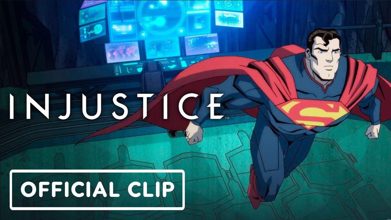 Injustice – Exclusive Official Batman and Superman Clip (2021) Justin Hartley, Anson Mount