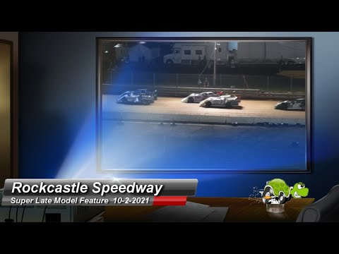 Rockcastle Speedway - Super Late Model Feature - 10/2/2021 - dirt track racing video image