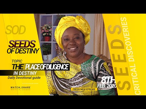 Dr Becky Paul-Enenche - SEEDS OF DESTINY - SATURDAY, 8TH FEBRUARY 2020
