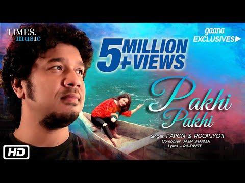 PAKHI PAKHI LYRICS - Papon, Roopjyoti | Hindi Version of Assamese Song
