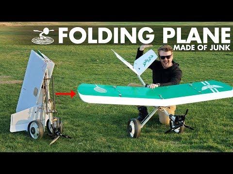 Using $5 of Junk to Build a Plane | Golf Club Bomber - UC9zTuyWffK9ckEz1216noAw