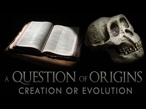A Question of Origins, Discussing the weaknesses in the theory of Evolution.