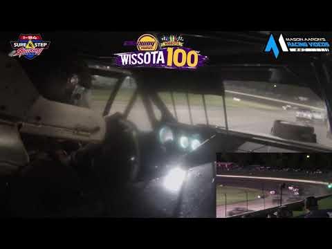 #19G Cole Greseth WISSOTA Street Stock On-Board @ WISSOTA 100 (9/16/21) - dirt track racing video image