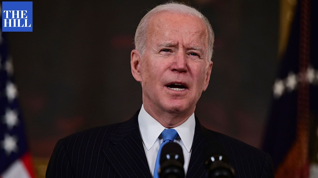 Biden asked POINT BLANK why meeting was shorter than expected