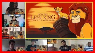 How The Lion King Should Have Ended REACTION MASHUP