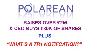 Polarean and TR1's - plus Investors vs Traders