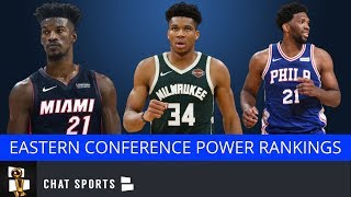 2020 NBA Power Rankings & Playoff Projections For Eastern Conference Led By Bucks, 76ers & Celtics