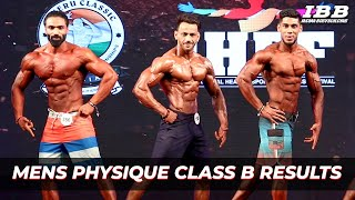 Men's Physique Category B Results IHFF Sheru Classic Pro Qualifier Series 2019