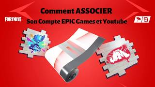 Comment Associer Votre Compte Epic Games à Youtube | How to link Epic Games and Youtube